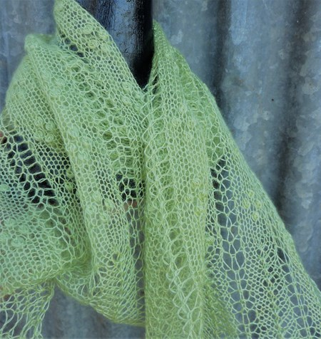 Sorrento Scarf In 2 Ply Products Patterns Shop Wagtail Yarns