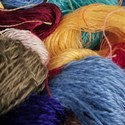Rainbow Yarn Snippets - 100% Kid Mohair